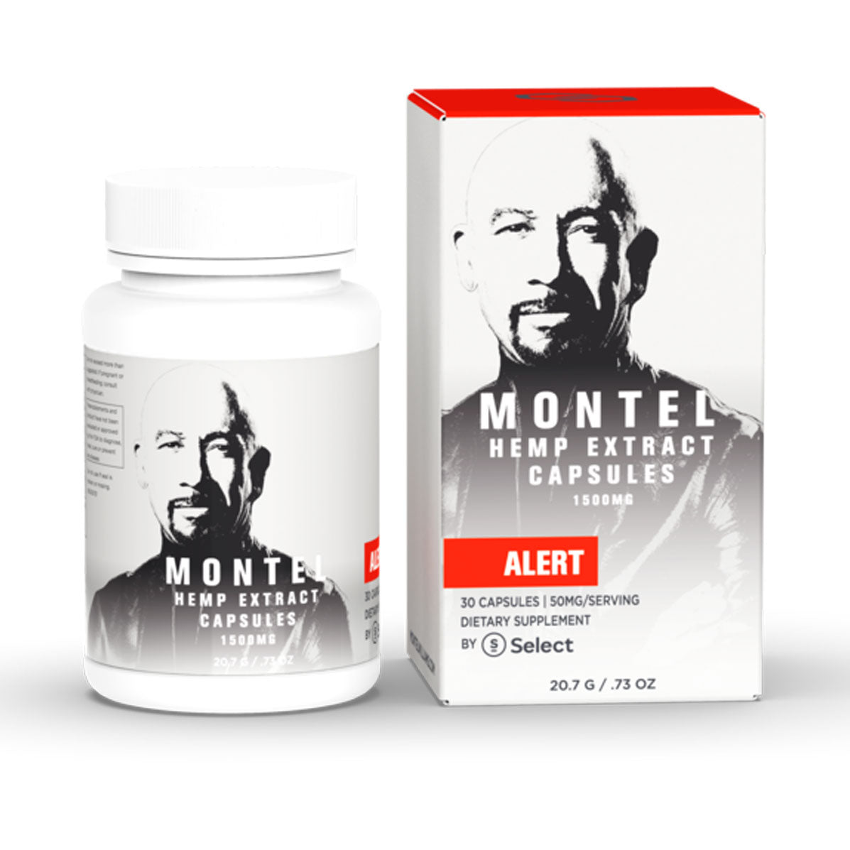 Montel by Select 1500mg Alert Capsules