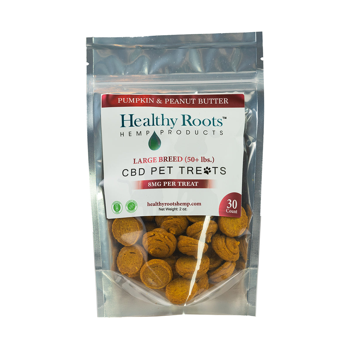 Healthy Roots Pet Treats 8mg