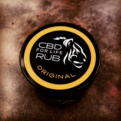 CBD For Life Rub Original