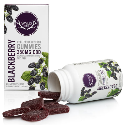 WYLD 250mg CBD Gummies