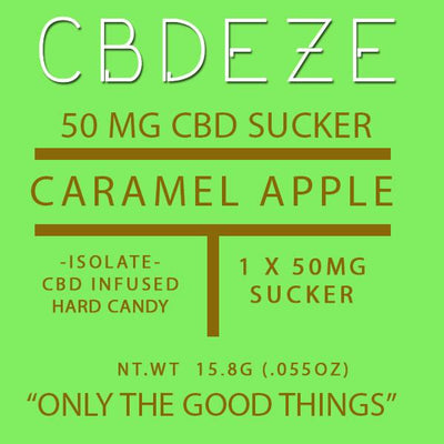 CBDEZE 50mg Lollipop - CBD Hemp Store, The #1 Trusted Source for CBD Oil, Vape Oil, CBD Edibles, CBD Lotions