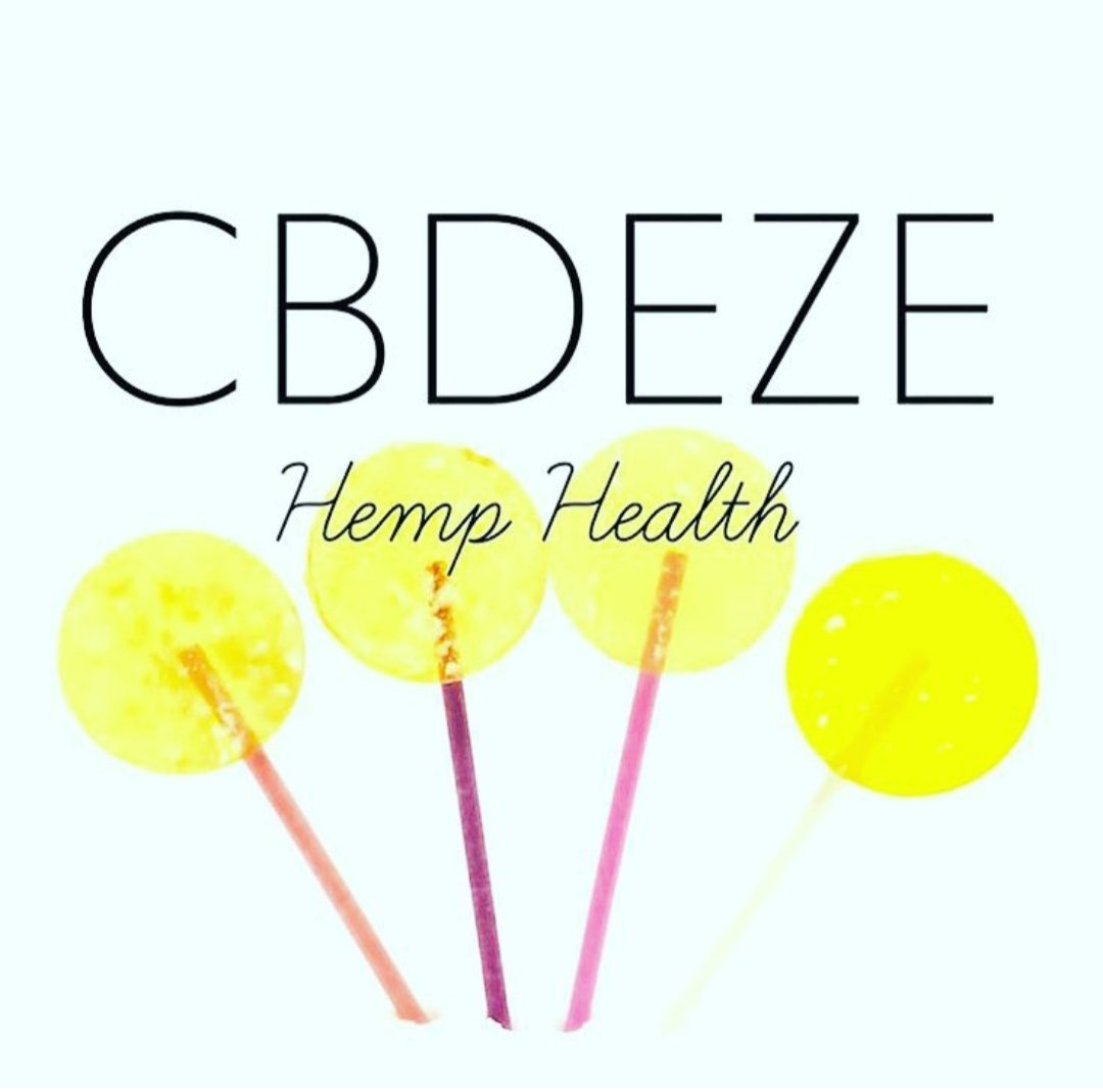 CBDEZE 50mg Lollipop
