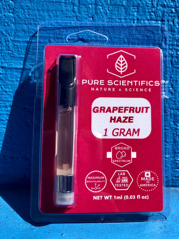 Pure Scientifics 1g Vape Cartridge