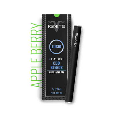 Ignite CBD Vape Pen 250mg - CBD Hemp Store, The #1 Trusted Source for CBD Oil, Vape Oil, CBD Edibles, CBD Lotions