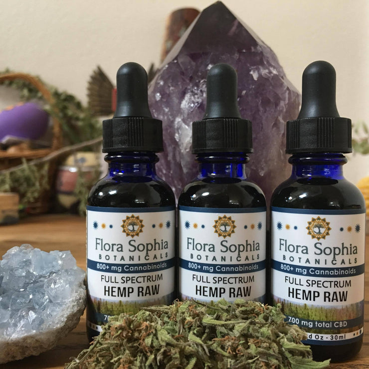 Flora Sophia Raw Hemp Tincture - 700mg