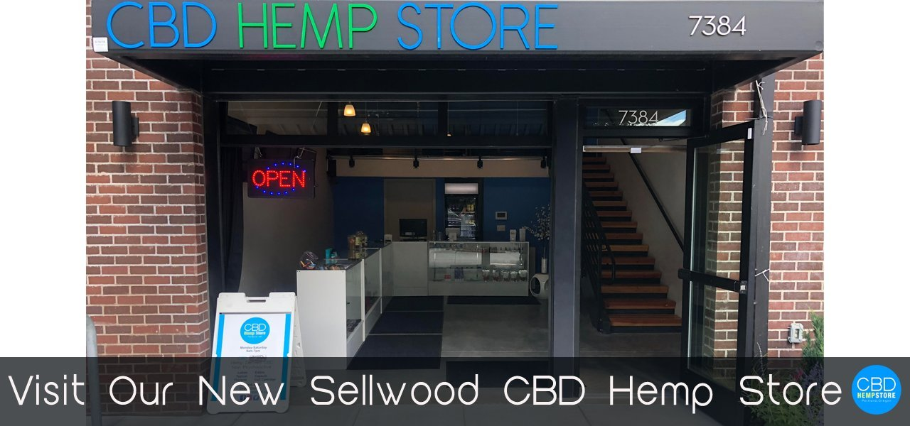 CBD Hemp Store, Portland, Oregon