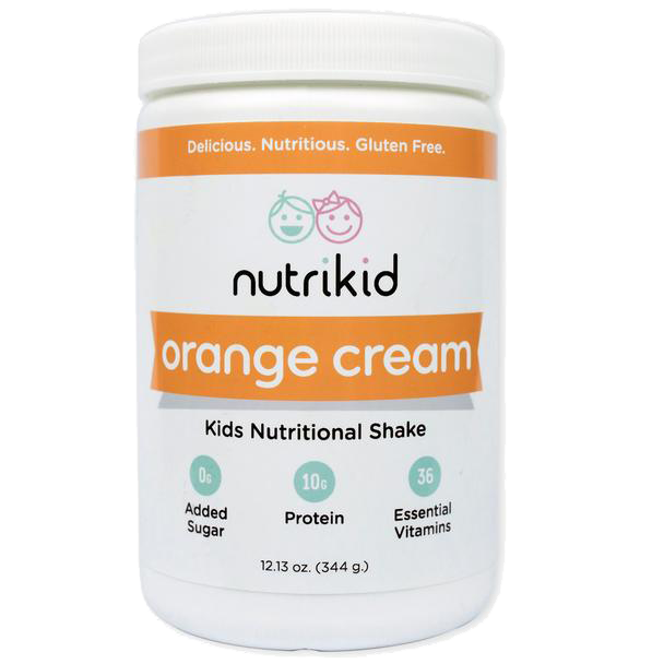 Orange Cream Nutritional Shake - Kids Protein Shake