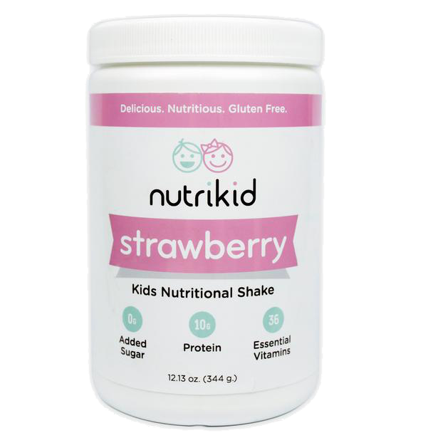 Strawberry Nutritional Shake - Kids Protein Shake