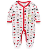 New Newborn Baby Boy Girl Romper Clothes Long Sleeve Infant Product - Shopper Bytes