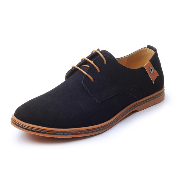 Men's Shoes chaussure homme Plus Size 38-48 Handmade Soft Leather Men Shoes Flat Casual Shoes Brand Men Oxford Shoes - Shopper Bytes