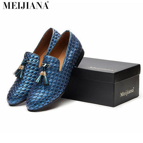 MEiJiaNa brand men shoes 2017 New BV breathable comfortable  men loafers luxury  men's flats men casual shoes - Shopper Bytes