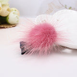 Girl Cute Hairball Hairpins Lovely Colorful - Shopper Bytes