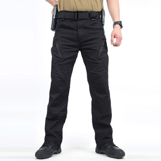 IX9 Tactical Men Pants Combat Trousers Army Military Pants Men Cargo Pants For Men Military SWAT Style Casual Many Pockets Pants - Shopper Bytes