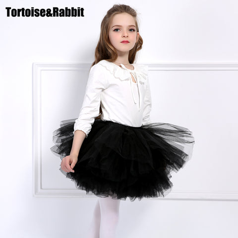 Fashion Girls Tutu Super Fluffy 6 Layer petticoat Princess Ballet Dance Tutu Skirt Kids Cake Skirt  Chritsmas Children Clothes - Shopper Bytes