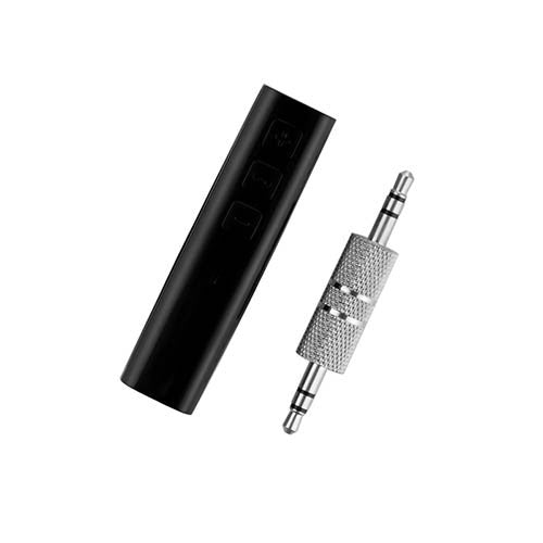 Wireless Bluetooth Receiver Speaker Headphone Adapter 3.5MM Audio Stereo Music Receiver Home Hands-free Bluetooth Plug - Shopper Bytes