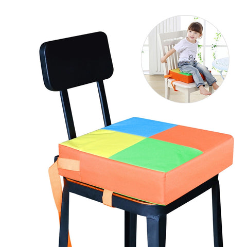 NUOLUX Baby Kids Children Dining Chair Booster Cushion Seats Dismountable and Adjustable Booster Seat Highchair Mat - Shopper Bytes
