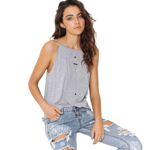 New women  tops   casual and sexy backless women clothing solid women summer  tank tops - Shopper Bytes