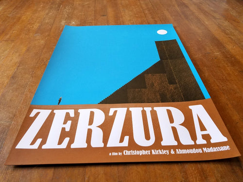 Zerzura limited edition film poster
