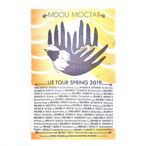 Mdou Moctar Limited Edition Tour Poster