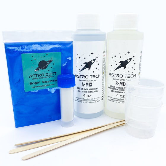 Astro Tech Jewelry Grade Epoxy - Ring Starter Kit
