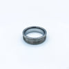 Hammered Tungsten Ring Blank