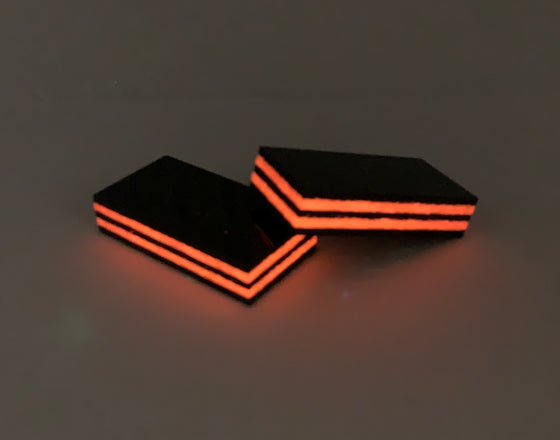 Glowing Carbon Fiber - Lava