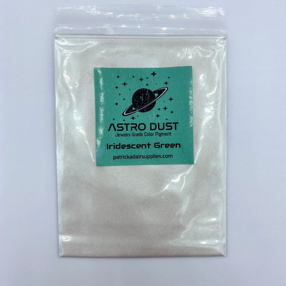 Astro Dust Iridescent Green Color Pigment