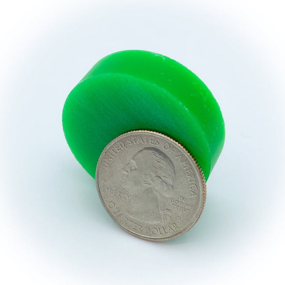 Resin Ring Blank - Green