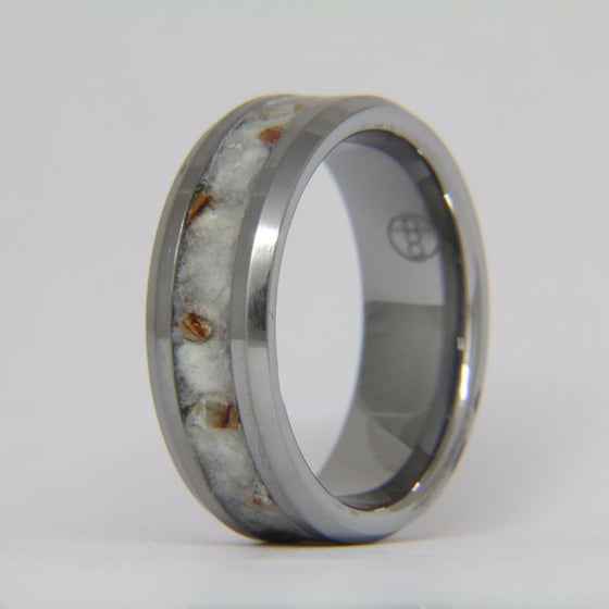 Siberian Tooth Tungsten Ring
