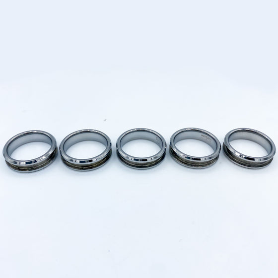 10 Pack - Tungsten Ring Blank
