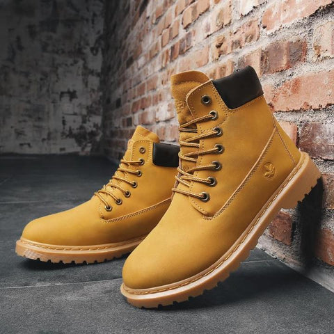 Men's Desert Shoes Combat Boots
