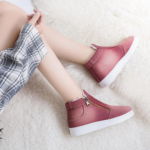 Classic Women's Snow Boots Fashion Winter Short Boots