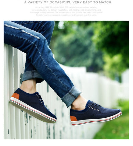 Mens Handmade Casual Moccasins