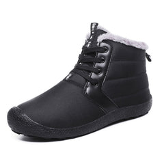 Men's High-Top Warm Cotton Snow Boots Hiking Shoes