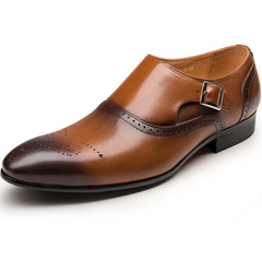 Mens Casual Stylish Leather Formal Dress Shoes