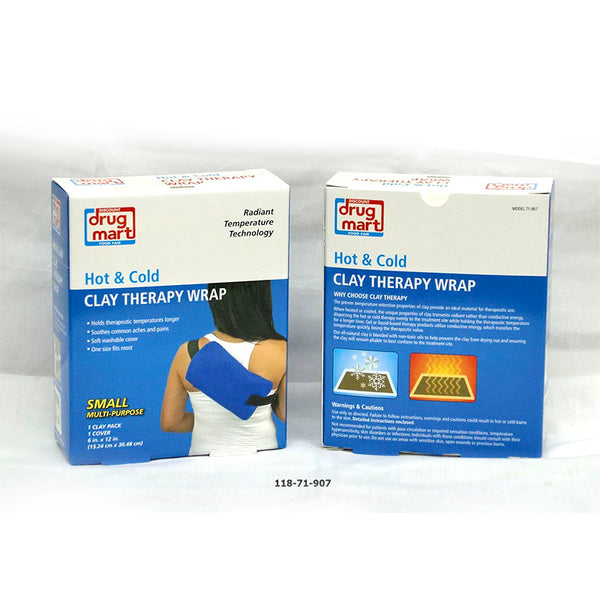 Clay Therapy Wrap Hot/Cold (12pc)