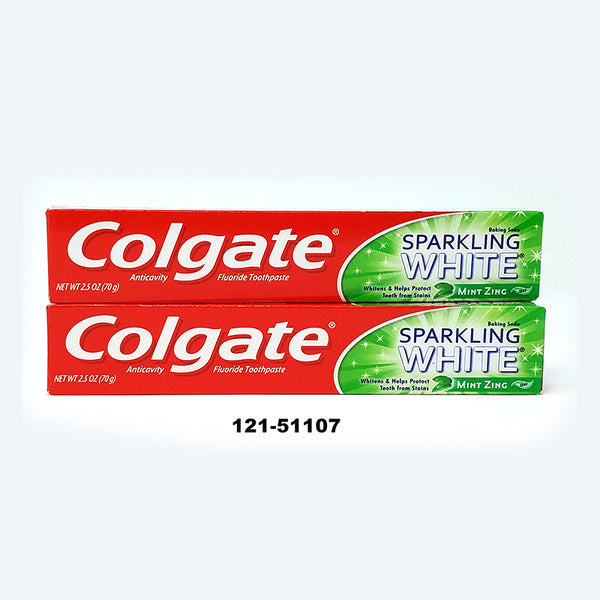 """Colgate"" Toothpaste 2.5oz Mint Zing (24pc)"