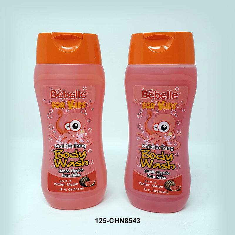 Bébelle' Kids' Body Wash 12oz - Water Melon (24pc)