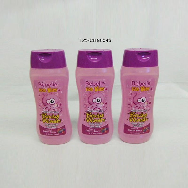 Bébelle' Kids' Body Wash 12oz - Cherry Berry (24pc)