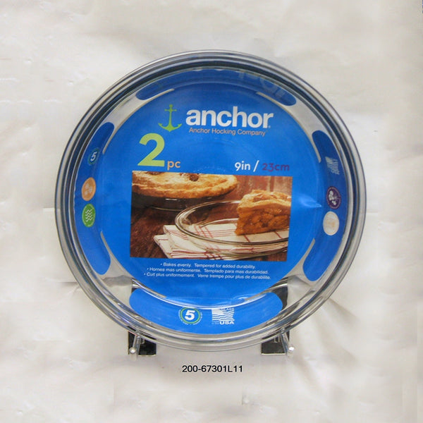 "Anchor Hocking' 2pc 9"" PiePlate - Value Pack (3pc)"
