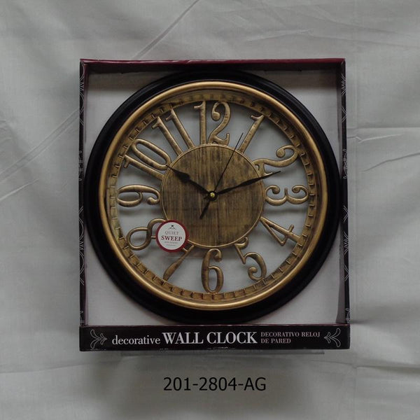 "13"" Antique Wall Clock (6pc)"