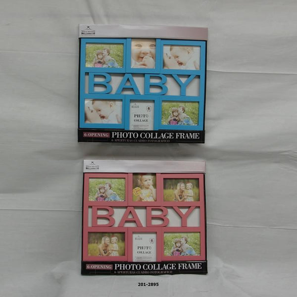 Baby Collage Photo Frame (8pc)