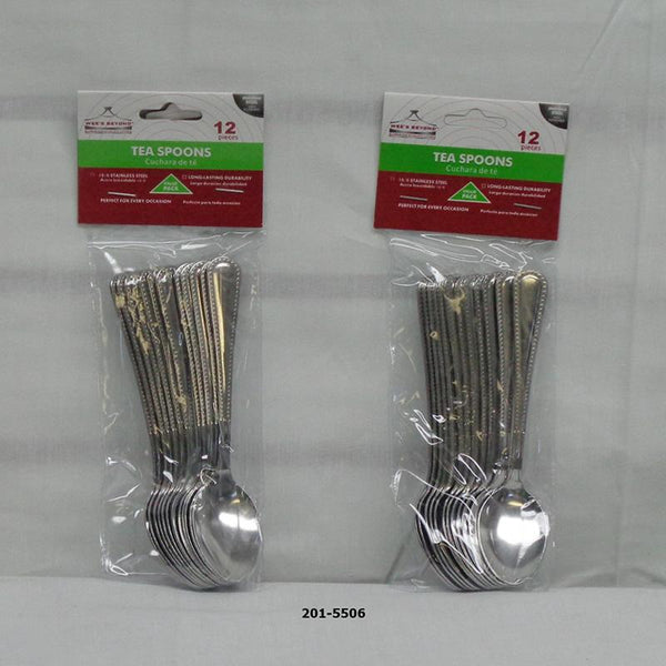 12pc Tea Spoon Set (48pc)