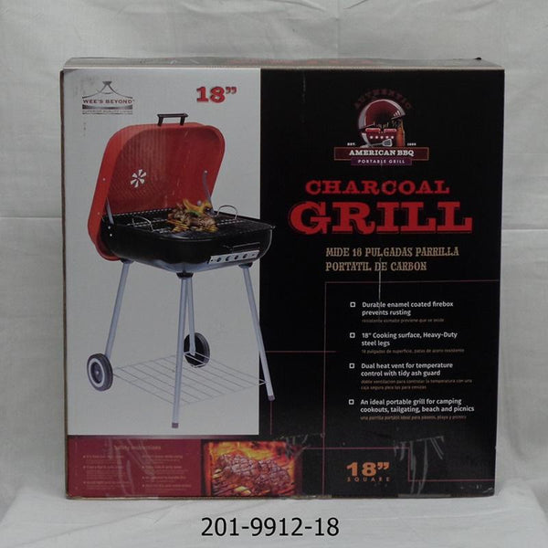 "18"" Square BBQ Grill ( 1pc)"