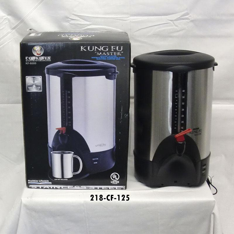 30 Cup Coffee URN Black  (2pc)