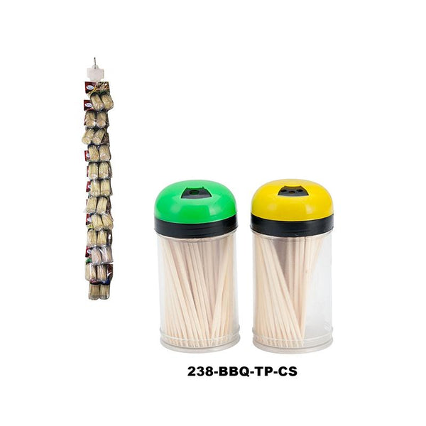 "2.5"" Bamboo Toothpicks in PVC Jar 100ct (144pc)"
