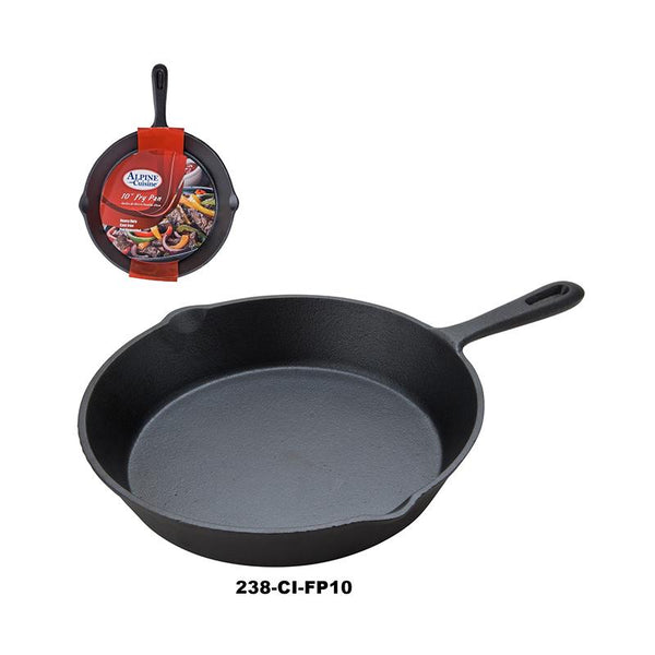 "10"" Cast Iron Fry pan (4pc)"