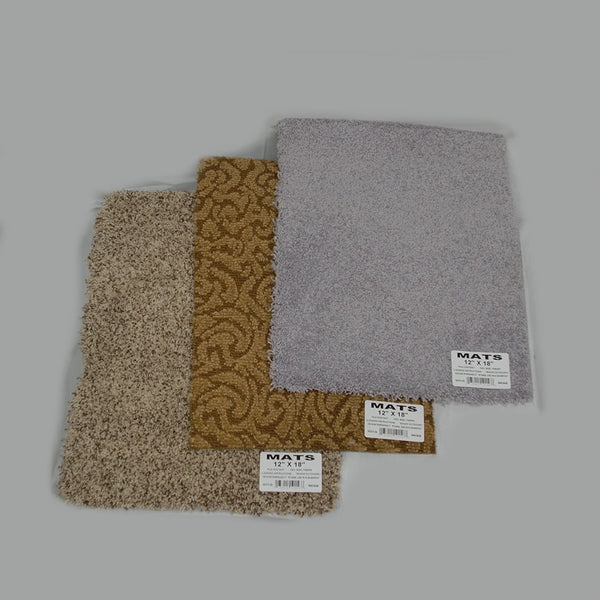 "12"" x 18""  Rough  Edges Carpet (25pc)"