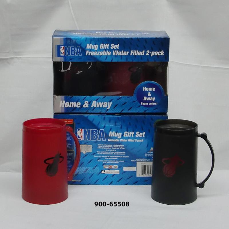 2 pack Freezer Mug 15oz Miami Heat (6pc)