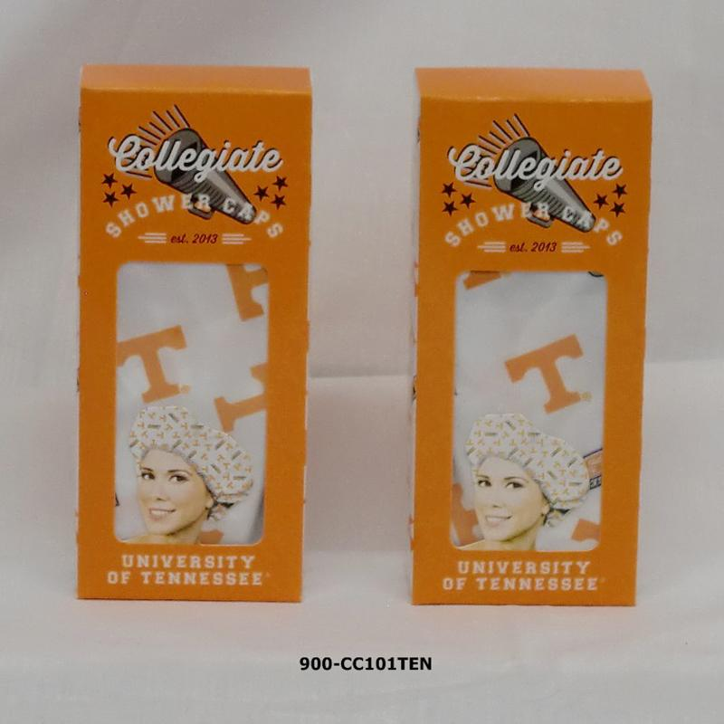 Collegiate'  Shower Cap - Tennessee (72pc)